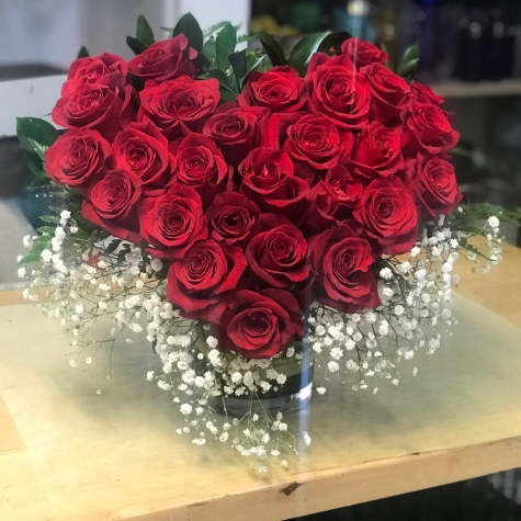 1.)Heart fill with red rosesSpecial: $180.00